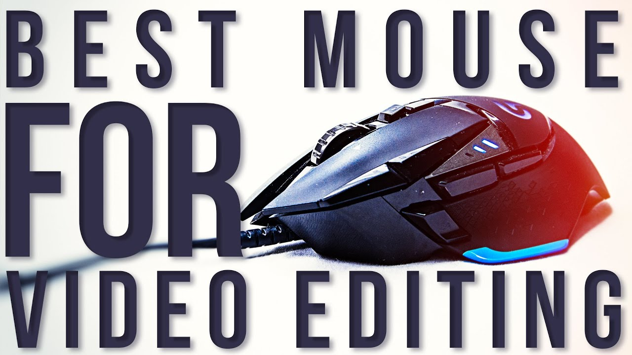 Video Editing with a gaming mouse - Logitech G502