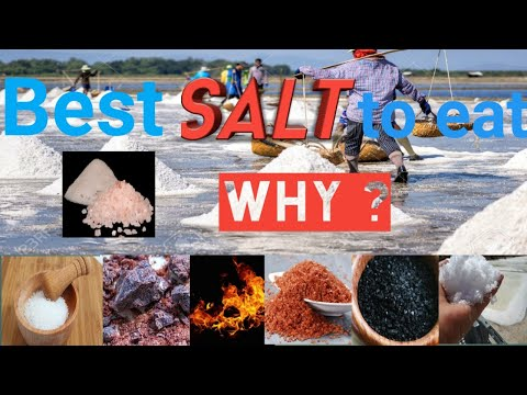 Salt | Best Salt For Health | Best Salt To Use For Cooking | Best Salt To Eat | Rock Salt