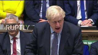 UK: Johnson urges MPs to 'heal rift' ahead of vote on latest Brexit deal