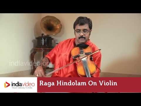Raga Series - Raga Hindolam on Violin by Jayadevan