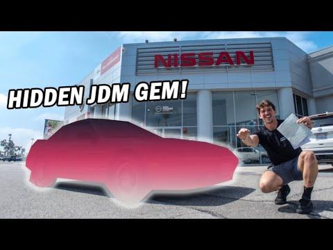 I Found A Hidden JDM Gem at a Nissan Dealership & Bought it!