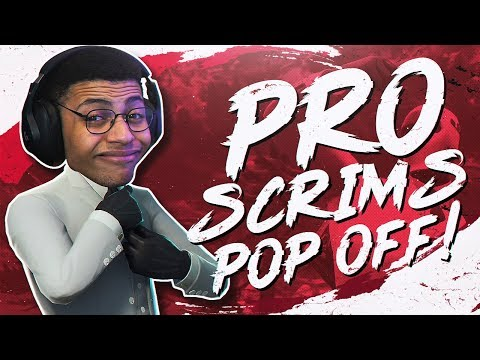 POPPING OFF IN PRO SCRIMS! SOLO WIN (Fortnite BR Full Match)