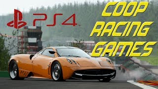 Best PS4 Split Screen coop Racing Games