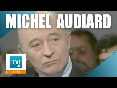 """Apostrophes : Michel Audiard """"J'embrasse la littérature""""   Archive INA"""