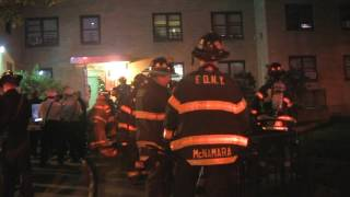   FDNY 10-75 + All Hands Fire Box 1292   Fire 3rd floor of a 6 Stry. 150X35 Class 1 MD