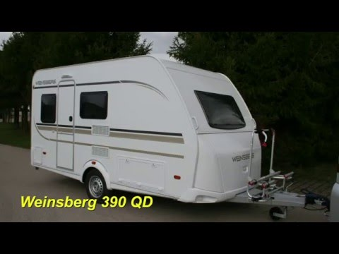 wohnwagen weinsberg 390qd youtube. Black Bedroom Furniture Sets. Home Design Ideas