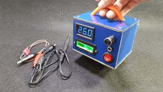 Build 2 in 1 Portable Soldering Iron Station vs Power Supply