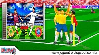 Winning Eleven UEFA vs. CONMEBOL 2016 (WE2002 Patch) no Playstation 1 / PS1