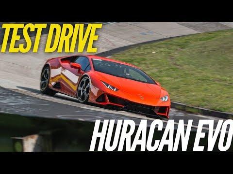 Lamborghini Huracan EVO : essai sur la Nordschleife