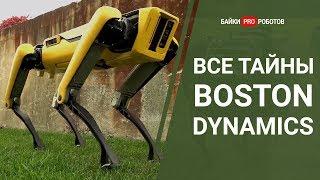 Все тайны роботов Boston Dynamics