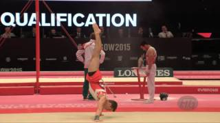 COURNOYER Rene (CAN) - 2015 Artistic Worlds - Qualifications Floor Exercise