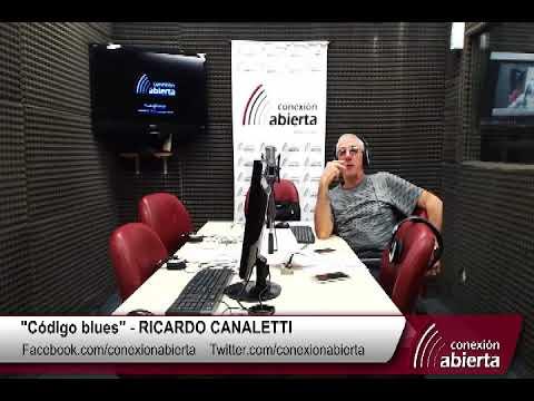 """Código blues"" con RICARDO CANALETTI - 20/02/18 - Radio Conexión Abierta"