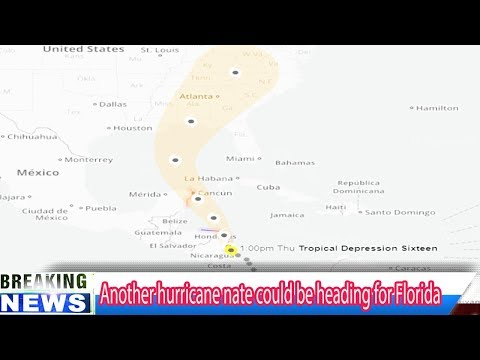 Another hurricane Nate could be heading for Florida - Breaking Daily News