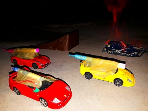 Fast and Furious Race JUMP on FIRE