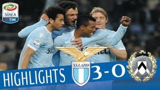Lazio - Udinese 3-0 - Highlights - Giornata 12 - Serie A TIM 2017/18