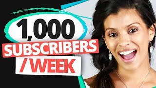 DO THIS To Get Your First 1000 YouTube Subscribers In Less than 1 Week