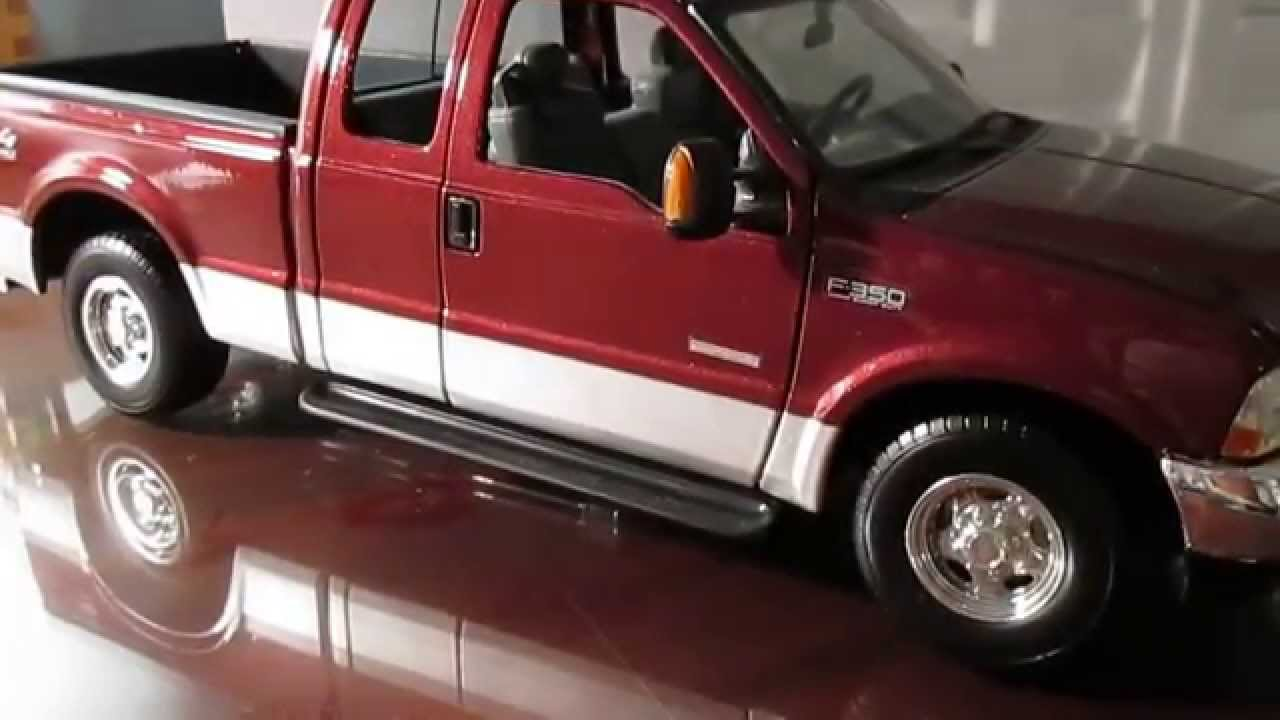 118 scale ford f350 lariat diecast truck by maisto youtube
