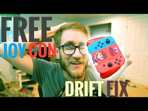 FREE Nintendo Switch Joy-Cons! | Controller Drift Repair