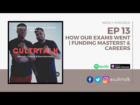 #13 HOW OUR EXAMS WENT | FUNDING MASTERS? | CAREERS?