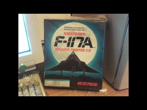 MARCO PLAYS : NIGHTHAWK F117 STEALTH FIGHTER (Microprose - 1992) [PC-DOS]