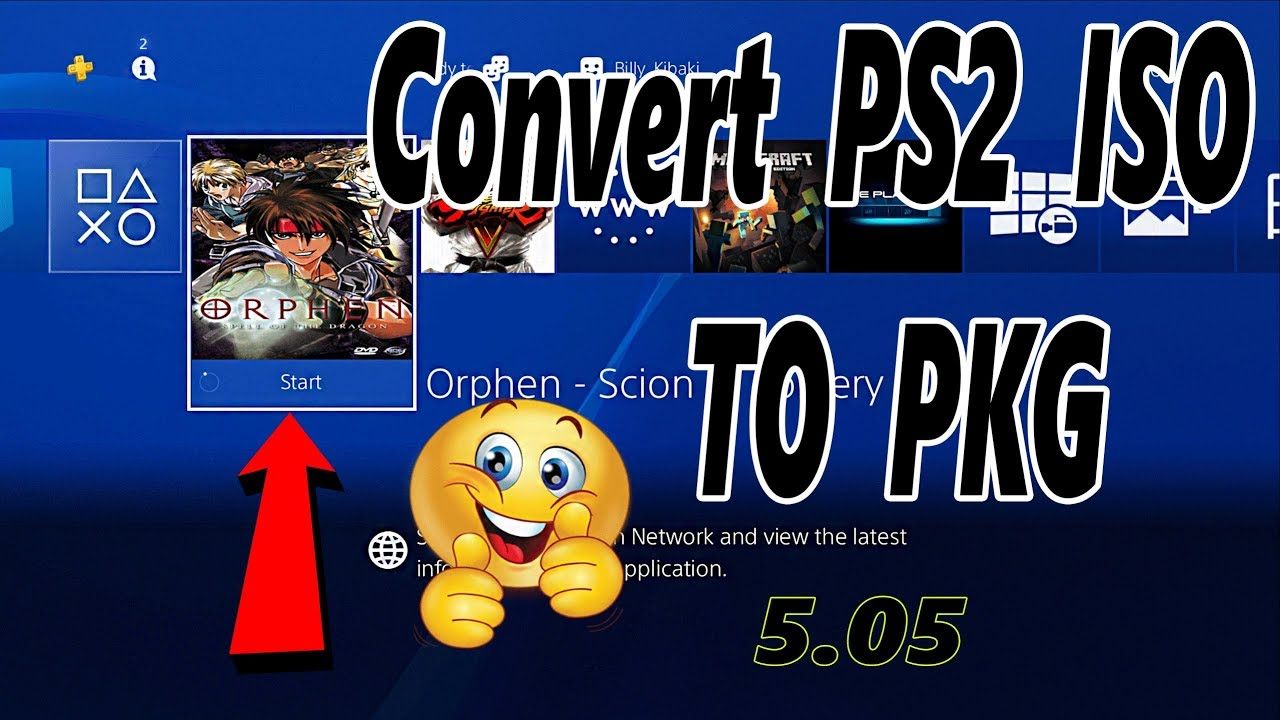 How To Convert And Install PS2 Games on a Jailbroken PS4