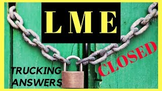 LME Closed leaving drivers without PAY   WARN Act Violation   Trucking Answers