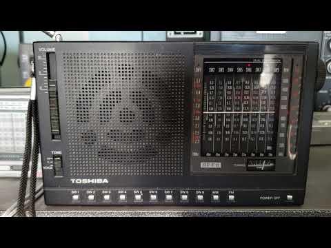 African pathways radio via Madagascar on the Toshiba rp F11 receiver 13670 Khz Shortwave
