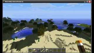 Как быстро найти деревню и ведьму  Minecraft