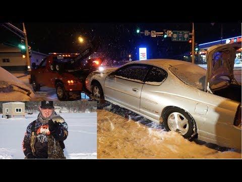 Car Accident before Ice Fishing? (Brainerd, MN Ice Fishing)