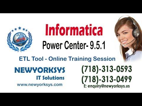 Informatica 9.5.1 Online Training Class | ETL Tool Sessions- NewYorkSysTrainingиз YouTube · Длительность: 26 мин3 с