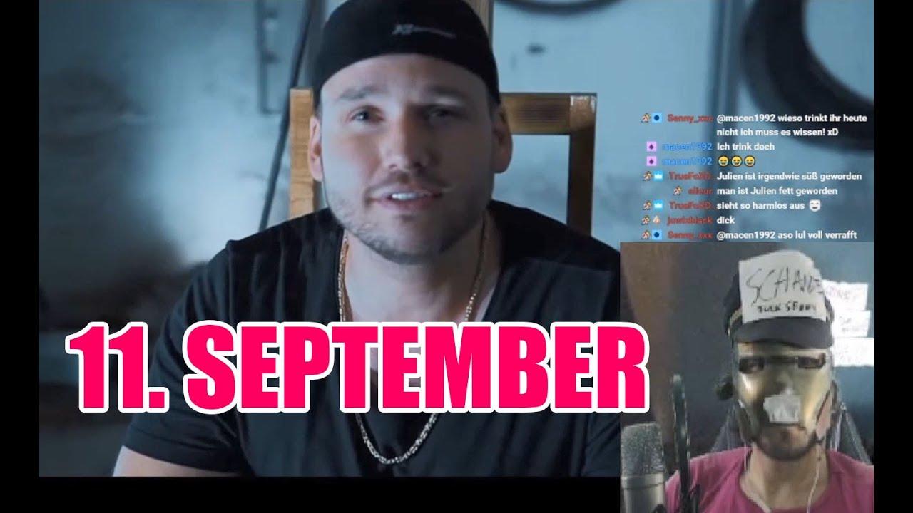Julien Boss - 11. September REACTION (Stream Highlights)