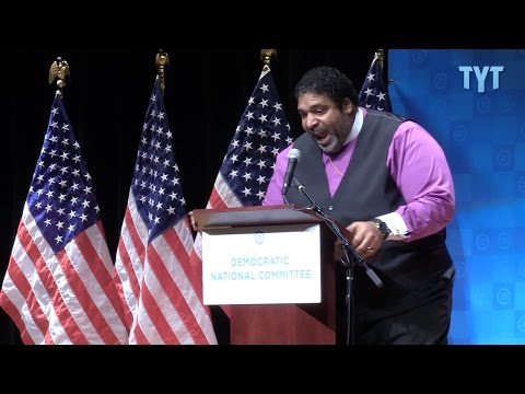 Rev. William Barber Brings Down The House At DNC Forum