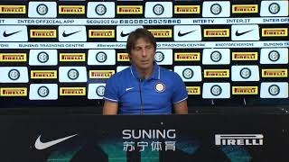 """""""what we are doing is beautiful for those who watch us from the outside and players on inside"""" said a defiant inter milan head coach antonio cont..."""