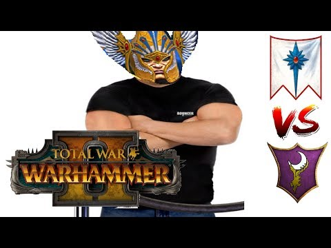 Lothern Stands Strong | High Elves vs Dark Elves - Total War Warhammer 2 Multiplayer Game