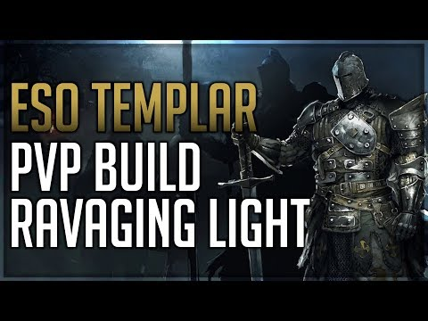 ESO Stamina Templar PvP Build - Ravaging Light - Wrathstone Patch