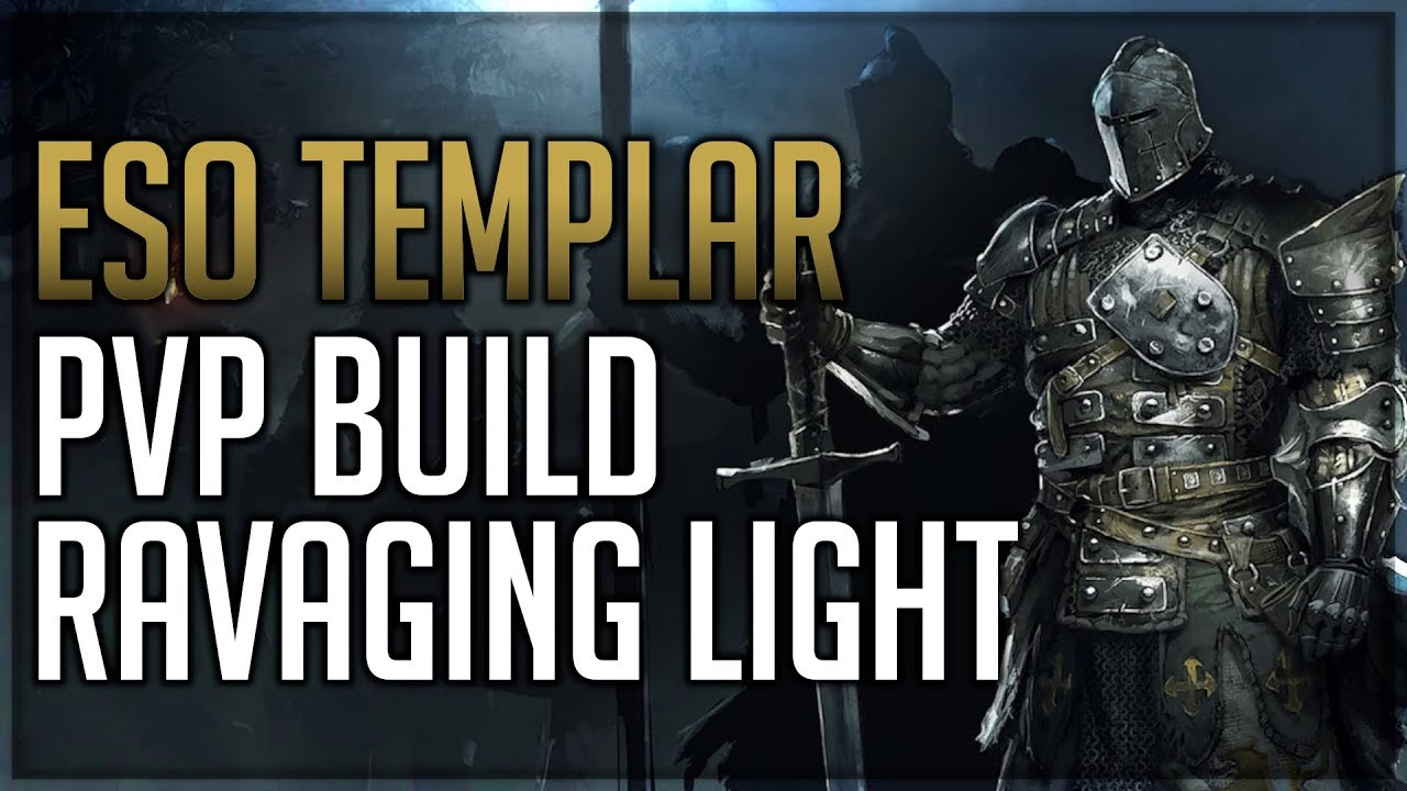 Ravaging Light – Stamina Templar PvP Build - Dottz Gaming
