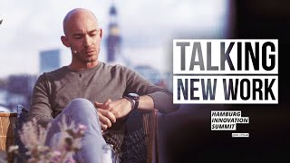 We had our first PHYSICAL KEYNOTE since months | Talking New Work @ Hamburg Innovation Summit