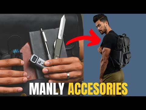 7 Manly Accessories All MEN Should Own!