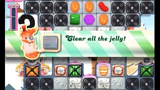 Candy Crush Saga Level 696 walkthrough (no boosters)