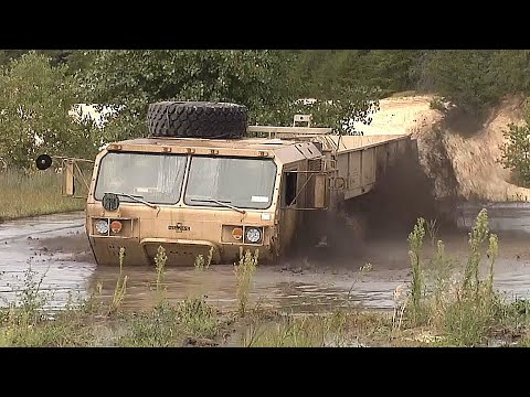 STUCK In THE MUD! How To Recover A VERY EXPENSIVE Military Vehicle With An M984 WRECKER!