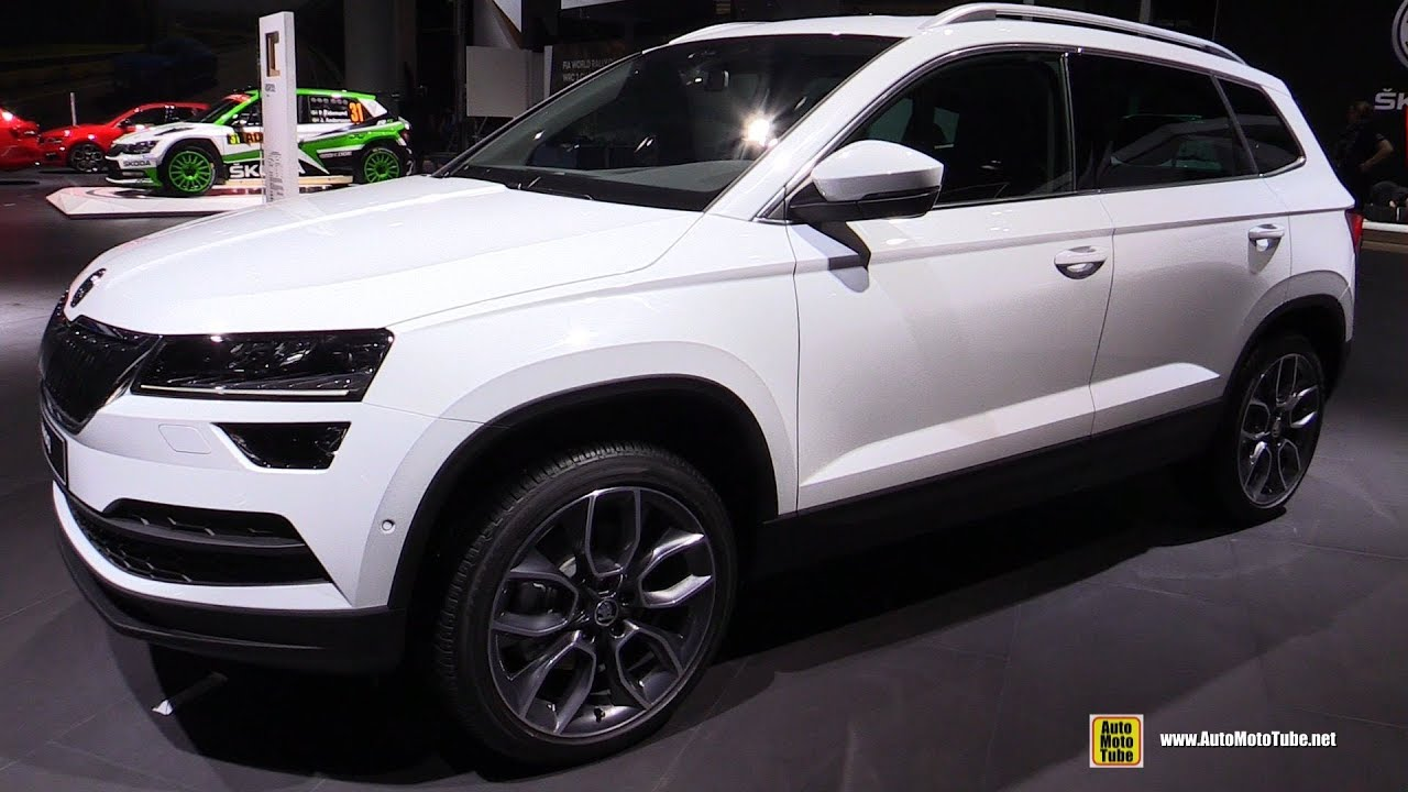 2018 skoda karoq exterior and interior walkaround. Black Bedroom Furniture Sets. Home Design Ideas