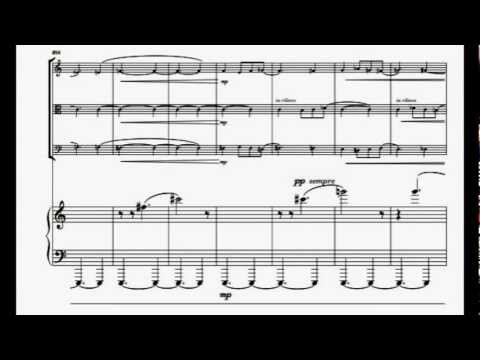 Gianluca Cascioli Piano Quartet (dedicated to Quartetto Anthos) III.Mov