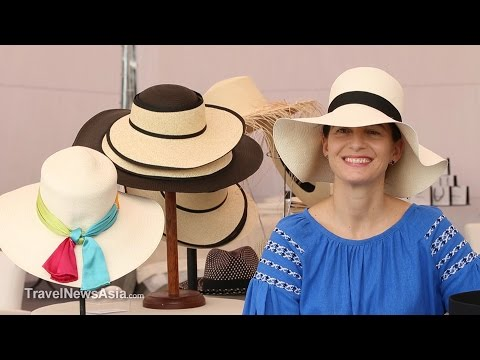 17a38b0f655 Panama Hats - Why are they so famous and where are they made  HD Interview