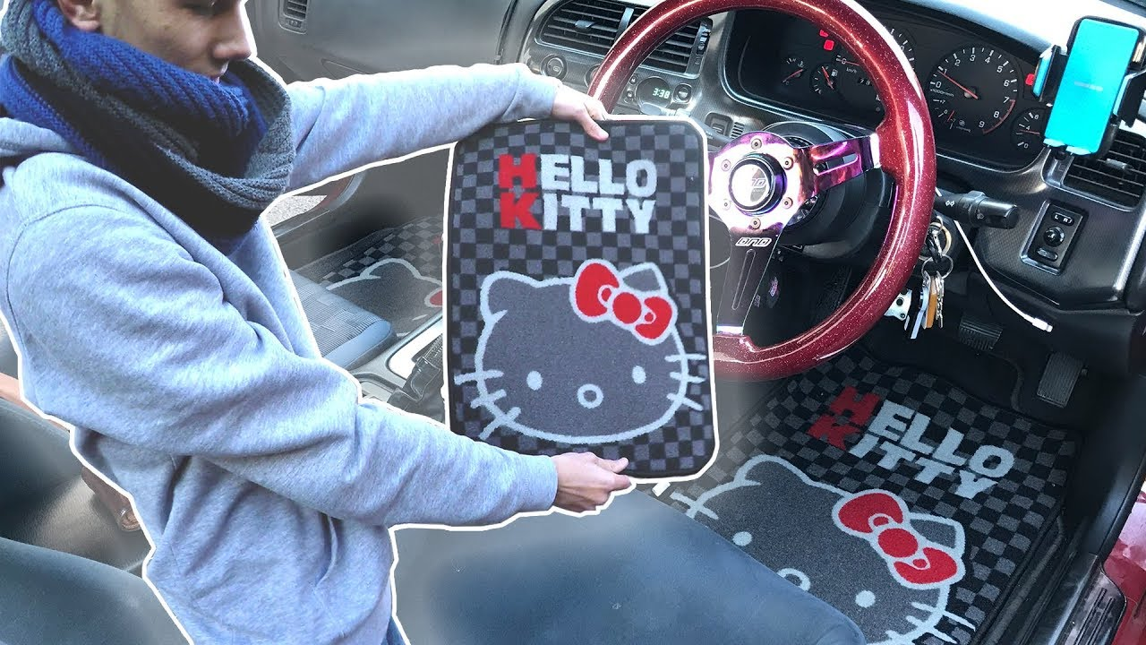 THE ULTIMATE JDM INTERIOR MOD! - Hello Kitty Edition