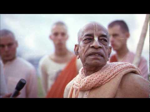 Japa meditation - Hare Krishna. Shrila Prabhupada.