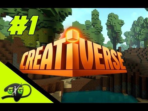 """Guigorex games apresenta: Creativerse #1  - """" Perseguidos pelo Pumba """""""