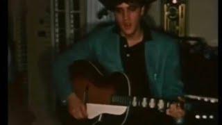 Elvis Presley - Blue Moon Of Kentucky - Rare 50s color video