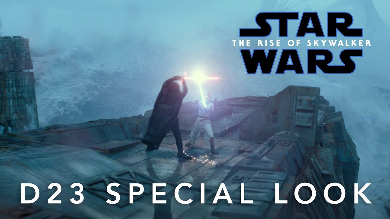 Star Wars The Rise Of Skywalker D23 Special Look Youtube