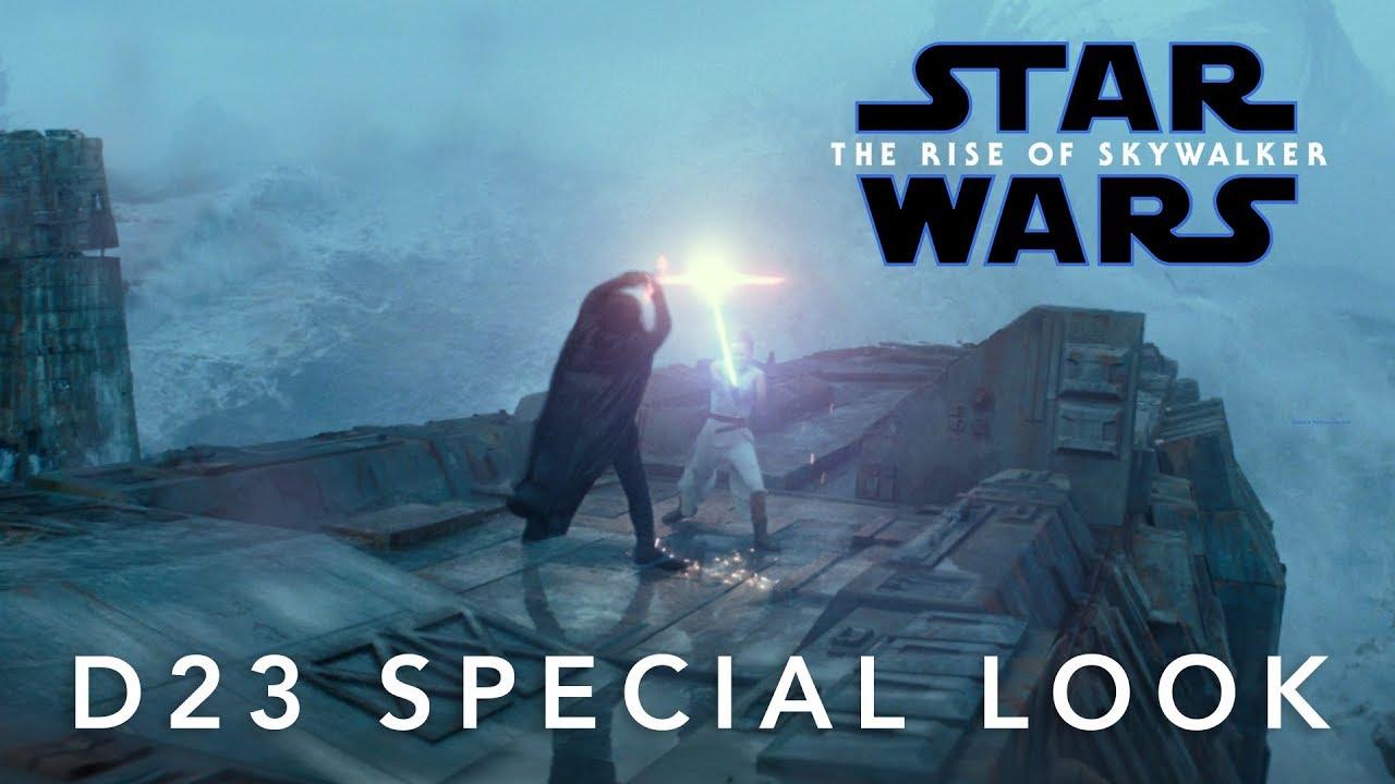 Star Wars IX: The Rise of Skywalker trailer 2 op D23