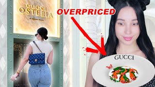 I went to the secret GUCCI restaurant